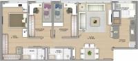 90m² - 3 dormitórios