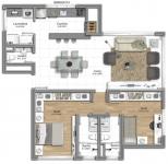 2 suites 92m²