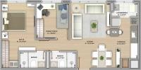 66m² - 2 dormitorios