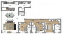 3 suites 140m²