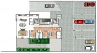 Unidade 301 – 3 suites com terraço